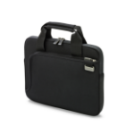 "Dicota Smart Skin notebook case 43.9 cm (17.3"") Messenger case Black"