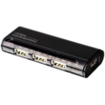Aten 4-Port USB 2.0 HUB 480Mbit/s Black interface hub