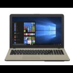 "ASUS VivoBook X540UA-GQ010T 2GHz i3-6006U 15.6"" 1366 x 768pixels Black, Chocolate Notebook"