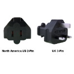 InLine North America US to UK Power Adapter Plug