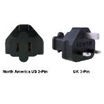 InLine North America US to UK Power Adapter Plug