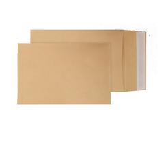 Blake Purely Packaging Gusset Pocket Peel and Seal Manilla C4 324×229×25mm 130gsm (Pk 125)