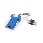 Black Box FA4509F-BL cable gender changer RJ-45 DB9 Blue