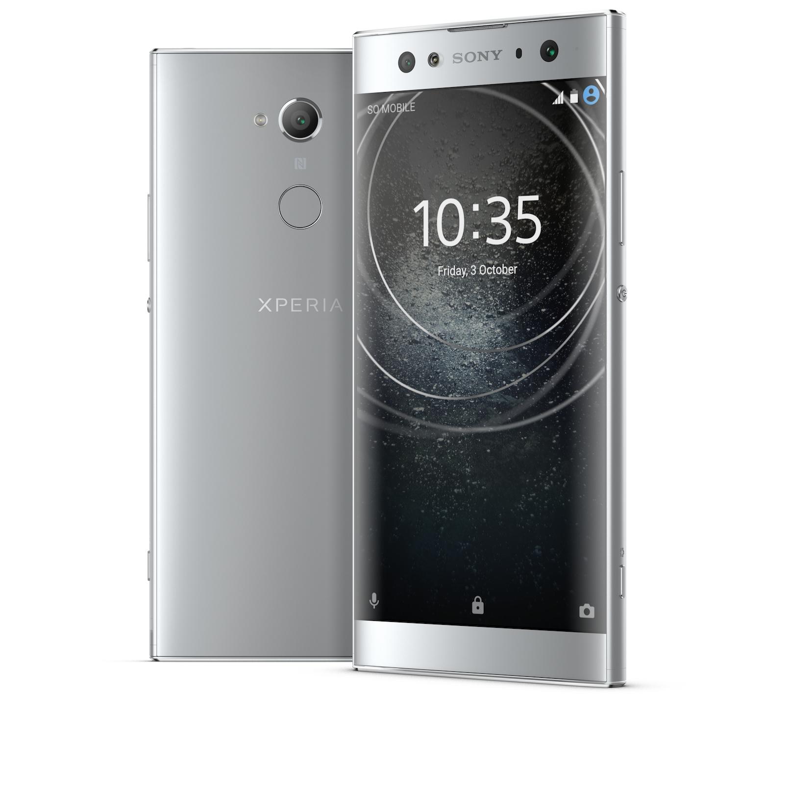 "Sony Xperia XA2 Ultra 15.2 cm (6"") 4 GB 32 GB 4G Silver 3580 mAh"