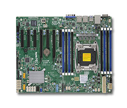 Supermicro X10SRL-F server/workstation motherboard LGA 2011 (Socket R) ATX Intel® C612
