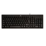V7 KC0A1 USB QWERTY Black keyboard