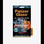 "PanzerGlass 0253 mobile phone case 6.7"" Cover Transparent"