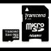 Transcend TS8GUSDHC10 8GB MicroSDHC Class 10 memory card
