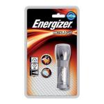 Energizer LED Metal Torch Hand flashlight LED Grey