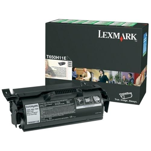 Lexmark T650H11E Toner black, 25K pages