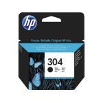 HP N9K06AE (304) Ink cartridge black, 100 pages @ 5% coverage, 4ml