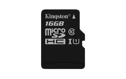 Kingston Technology Canvas Select memory card 16 GB MicroSDHC Class 10 UHS-I