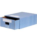 Fellowes 4482201 desk drawer organizer Paper Blue