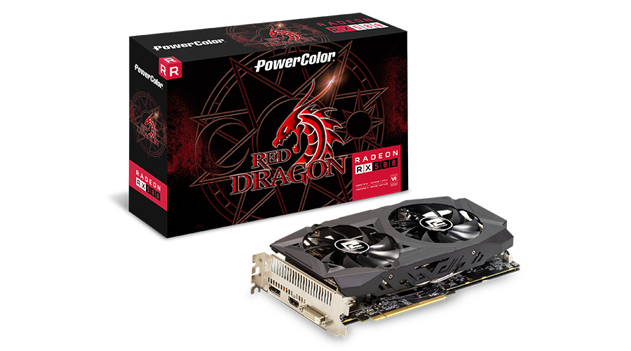 PowerColor Red Dragon AXRX 580 8GBD5-DHD/OC graphics card Radeon RX 580 8 GB GDDR5