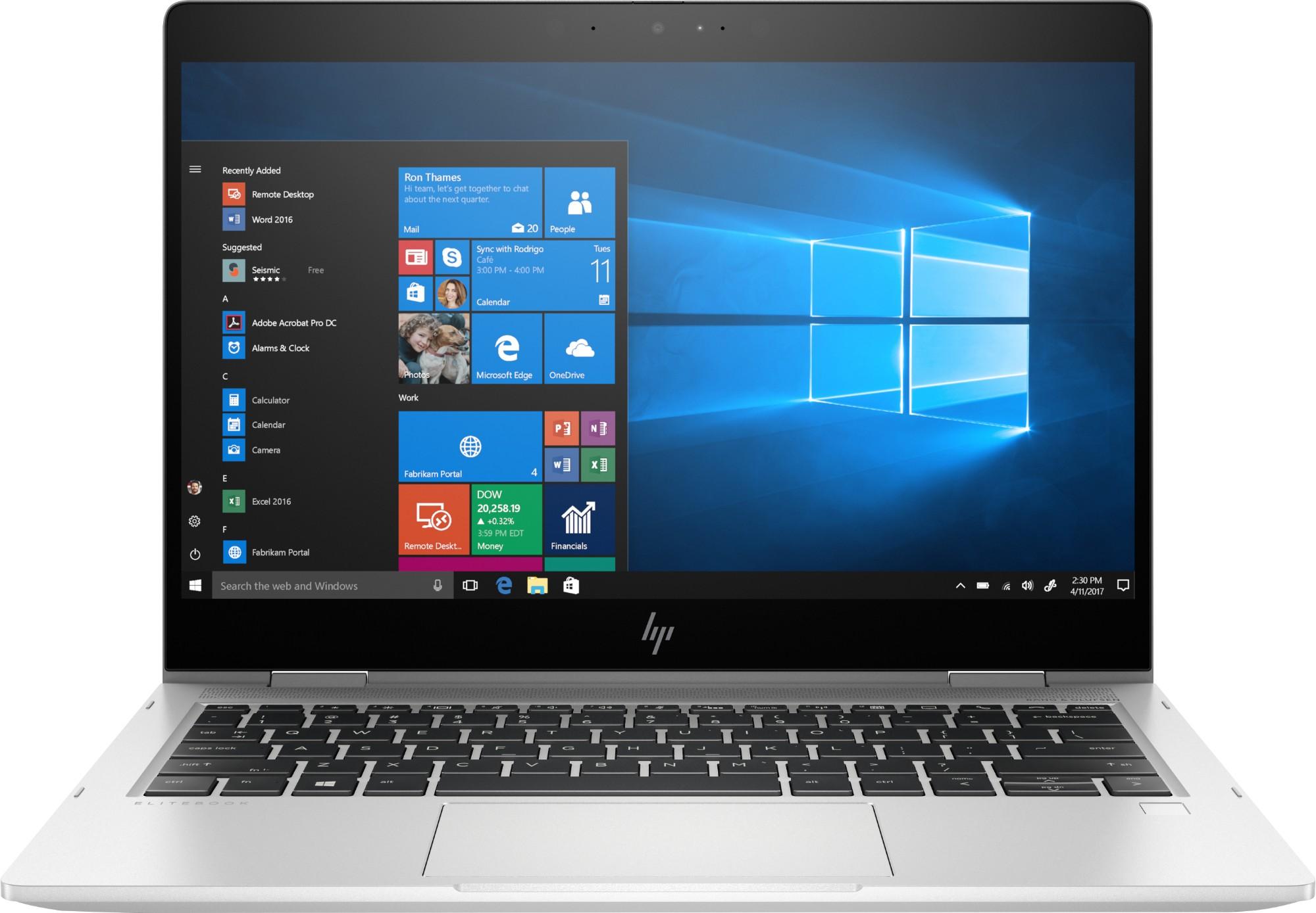 """HP EliteBook x360 830 G6 Zilver Hybride (2-in-1) 33,8 cm (13.3"""") 1920 x 1080 Pixels Touchscreen Intel® 8ste generatie Core™ i5 i5-8265U 8 GB DDR4-SDRAM 256 GB SSD"""