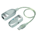 Lindy 42805 cable interface/gender adapter USB RJ-45 Grey