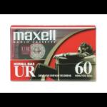 Maxell UR 60 Audio cassette 60min 2pcs