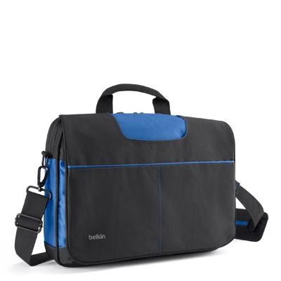 Belkin MASSENGER BAG 13IN BLACK/BLUE