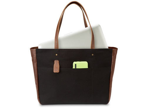 "HP 14"" Ladies Black Tote"