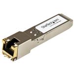 StarTech.com Brocade E1MG-TX Compatible SFP Module - 1000BASE-T - SFP to RJ45 Cat6/Cat5e - 1GE Gigabit Ethernet SFP - RJ-45 100m