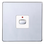 EnerGenie MIHO076 light switch Chrome, White