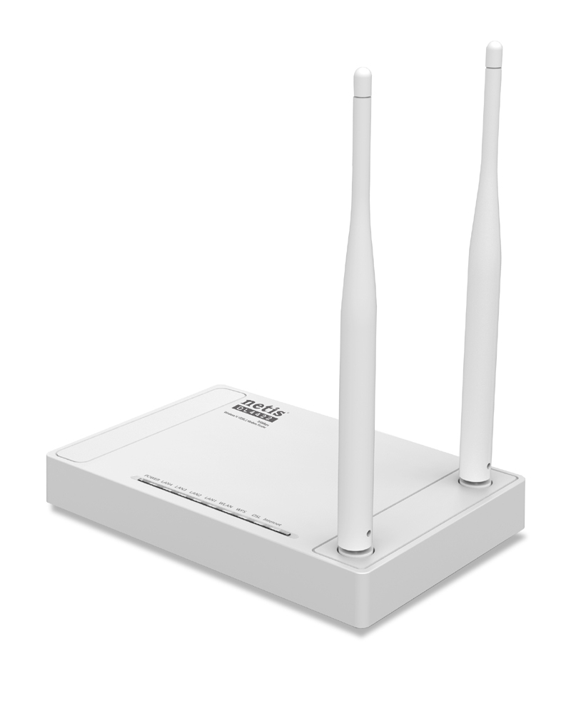 Netis System DL4422 Single-band (2.4 GHz) Fast Ethernet White wireless router