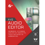 AVS4YOU Audio Editor Elektronischer Software-Download (ESD) Mehrsprachig