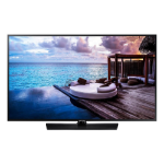 "Samsung HG55NJ670UF 55"" 4K Ultra HD Black 20 W"