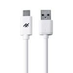 ZAGG Uniquesync mobiele telefoonkabel USB-A USB-C Wit 1,8 m