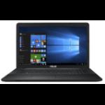 "ASUS X751NA-TY006T notebook Black 43.9 cm (17.3"") 1600 x 900 pixels Intel® Celeron® 8 GB DDR3L-SDRAM 1000 GB HDD Wi-Fi 4 (802.11n) Windows 10 Home"