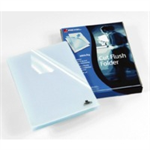 Rexel Cut Flush Folders A4 Clear (100)