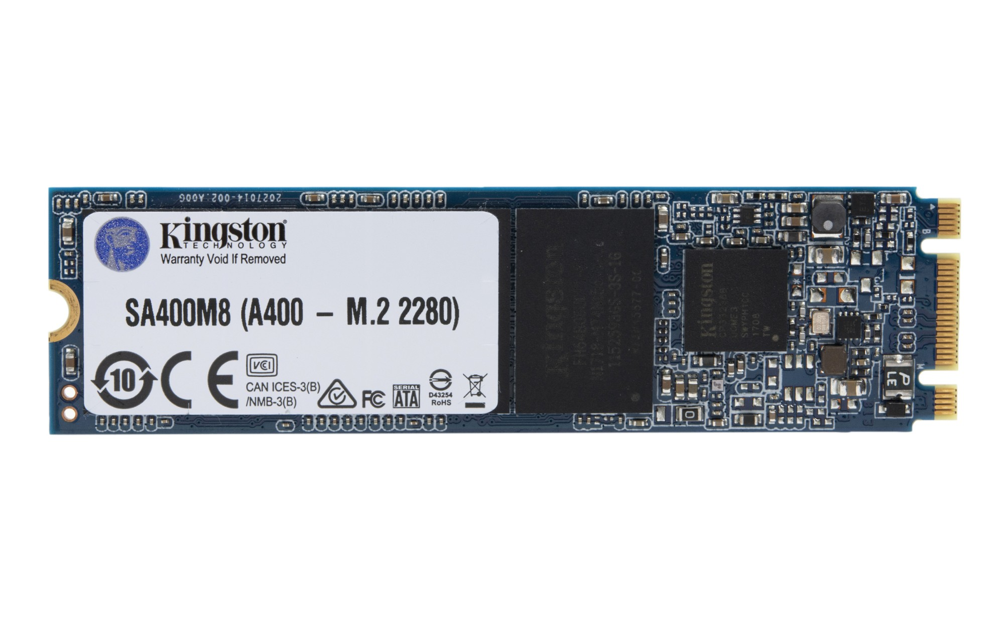Kingston Technology A400 M.2 480 GB Serial ATA III 3D NAND
