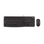 Logitech Desktop MK120, UK keyboard USB QWERTY UK English Black