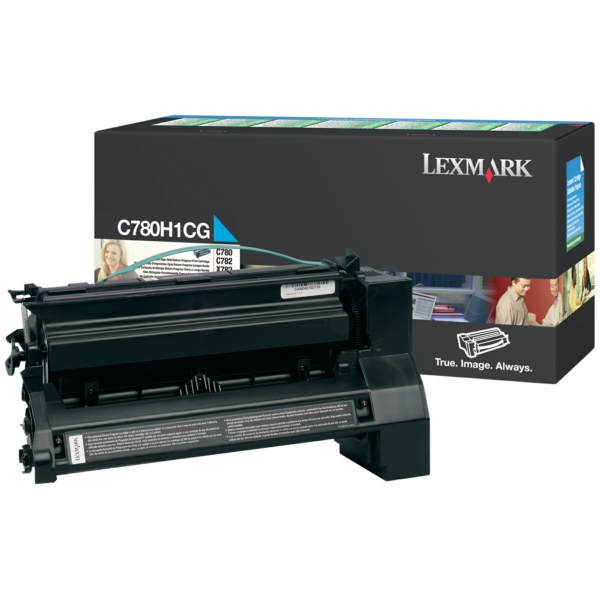 Lexmark C780H1CG Toner cyan, 10K pages @ 5% coverage