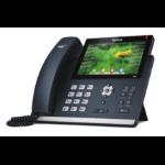 Yealink SIP-T48S IP phone Black 16 lines LCD