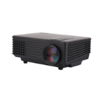 Inland 05550 data projector 800 ANSI lumens LCD Desktop projector Black