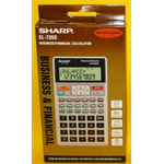 SHARP CALCULATOR SHARP EL735S/738FB DESKTOP FINANCIAL ( EACH )