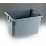 FSMISC STACK/NEST BOX 600X400X400MM GREYY