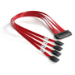 StarTech.com 50cm Serial Attached SCSI SAS Cable - SFF-8484 to 4x SATA SCSI cable