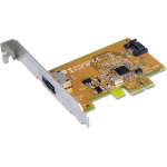 Sunix SATA1616 PCI Express SATA 3.0 Card 6Gbit/s - 1 Internal/1 External Port/2-Port PCI Express RIAD Cont