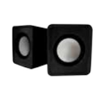 Approx appSPX1B loudspeaker 5 W Black Wired USB/3.5mm