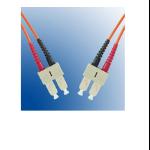 Microconnect SC/UPC-SC/UPC, 3m, 9/125 3m SC SC Orange