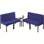 Jemini Reception Chair Blue