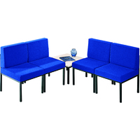 FF Jemini Blue Reception Chair