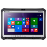 Panasonic Toughbook CF-D1 500GB Black,Silver tablet