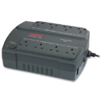 APC Back-UPS 400, UK Standby (Offline) 400VA 8AC outlet(s) Compact Charcoal uninterruptible power supply (UPS)