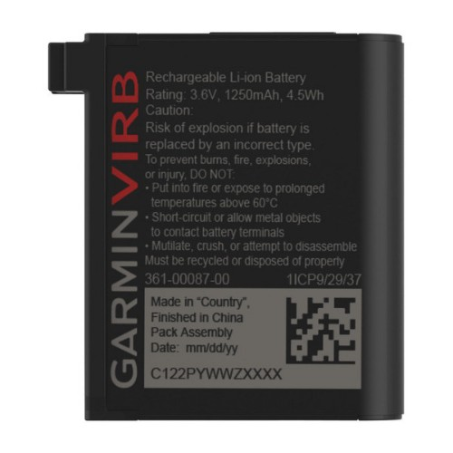 Garmin 010-12389-15 action sports camera accessory Camera battery