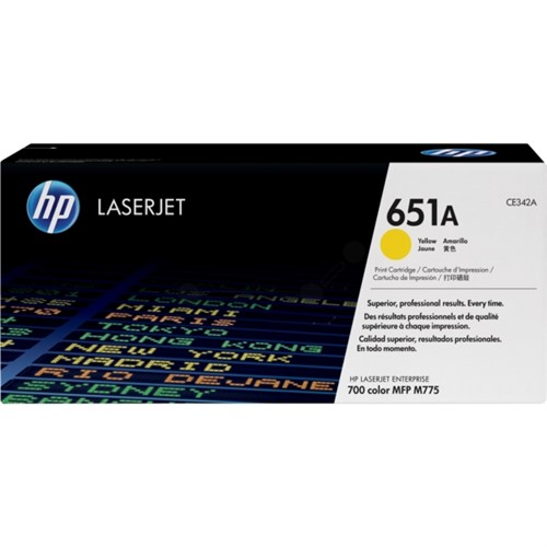 HP CE342A (651A) Toner yellow 16K pages