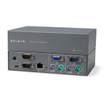 Linksys F1DE101Hea Black KVM switch