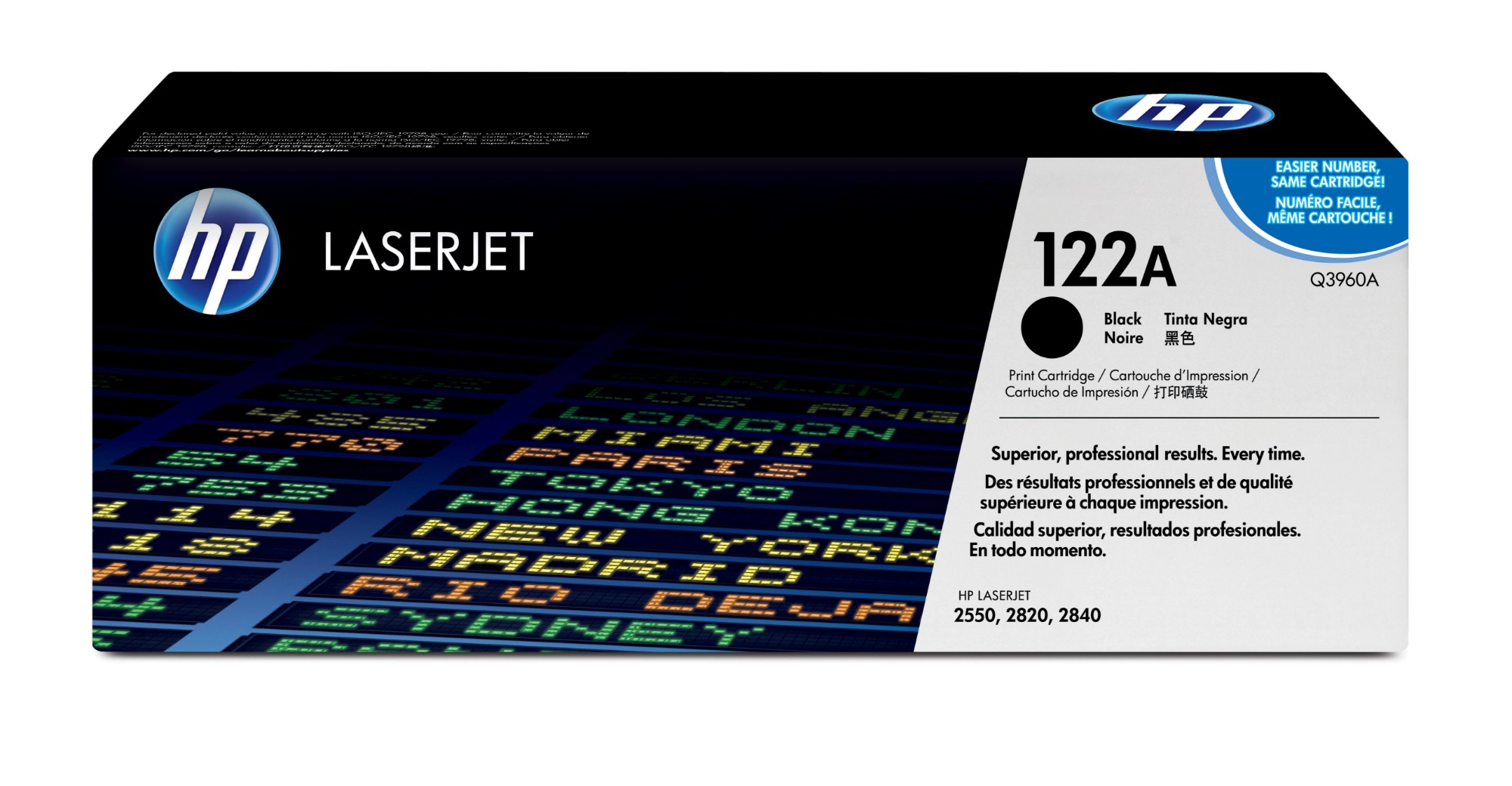 HP 122A Origineel Zwart 1 stuk(s)